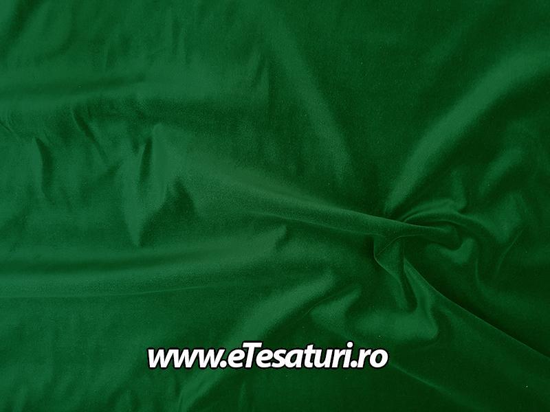 catifea bumbac verde