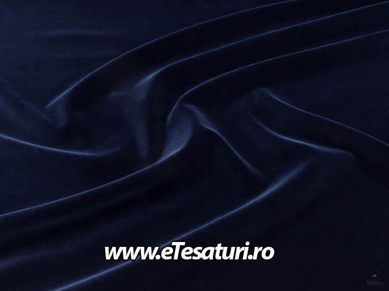 catifea bumbac bleumarin