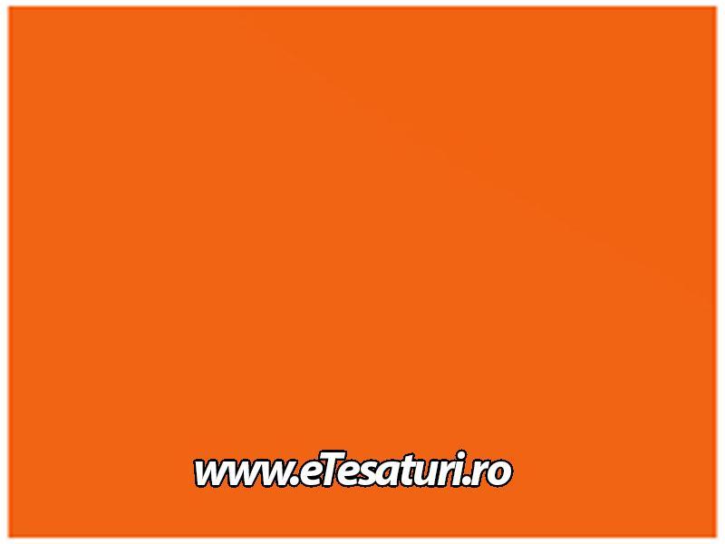 covor scena semi lucios portocaliu