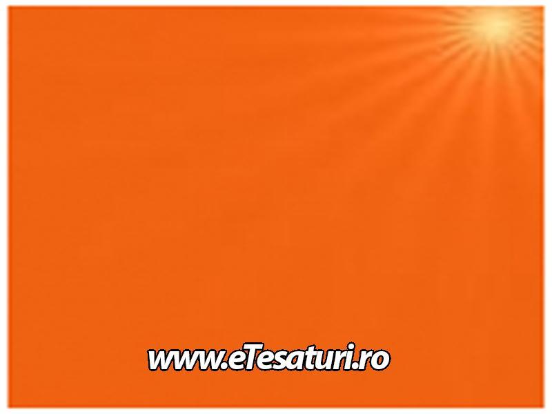 covor de scena lucios portocaliu