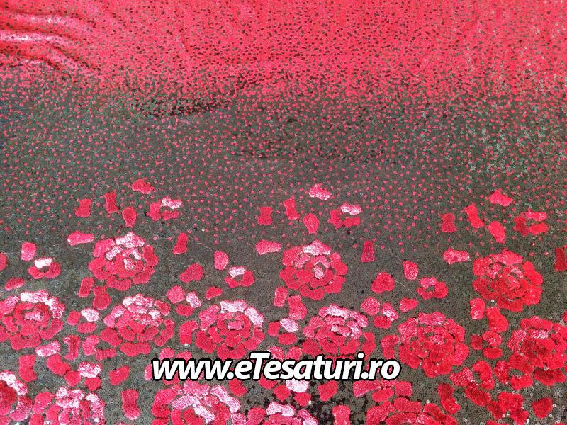 paiete rosii in degrade cu bordura