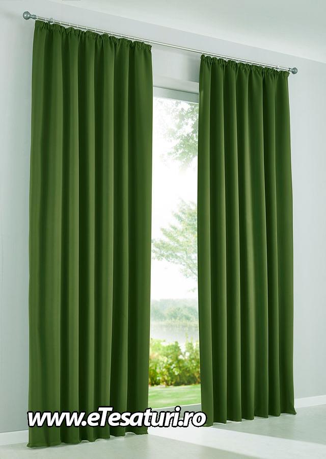 draperie soft verde