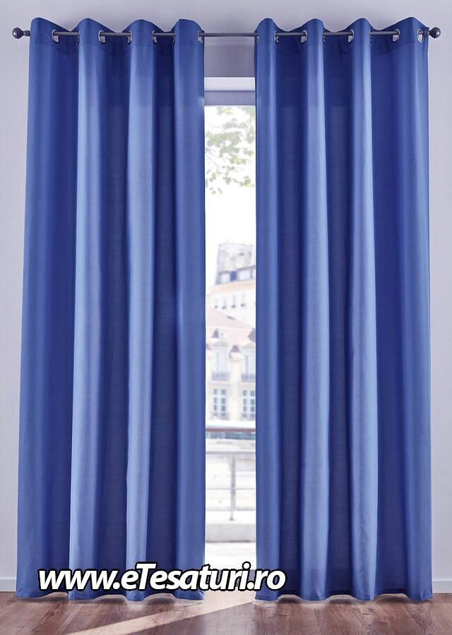 draperie soft albastra