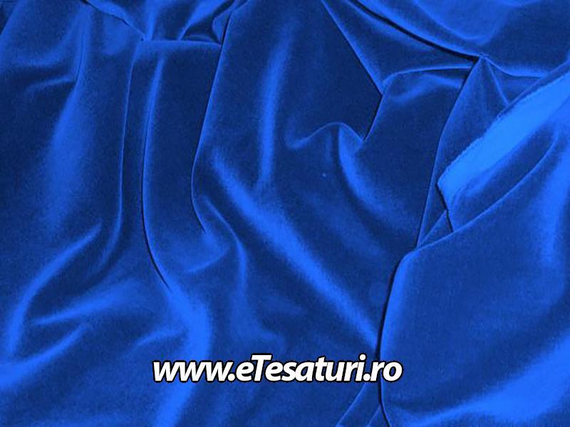 catifea albastru regal