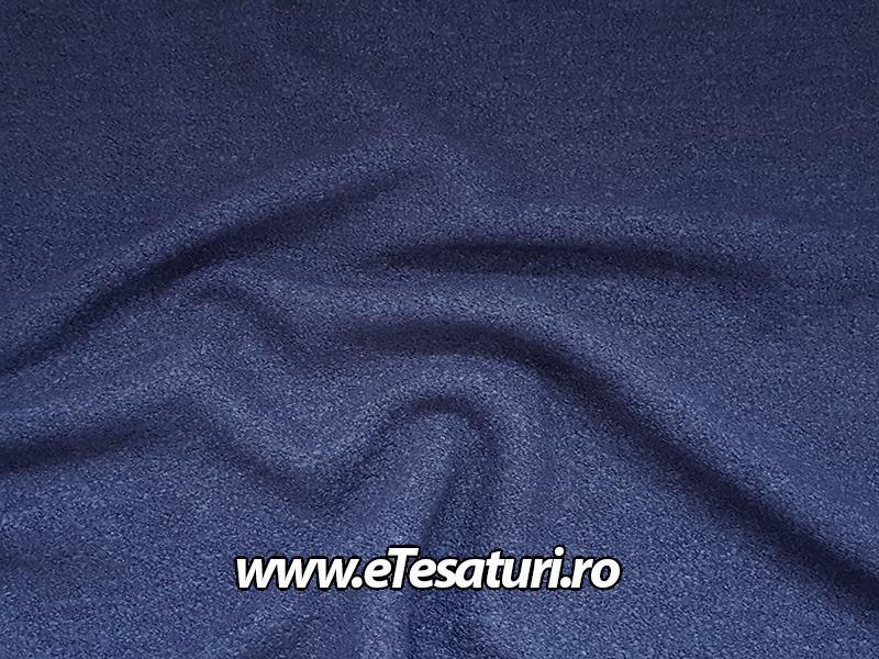 stofa bucle bleumarin