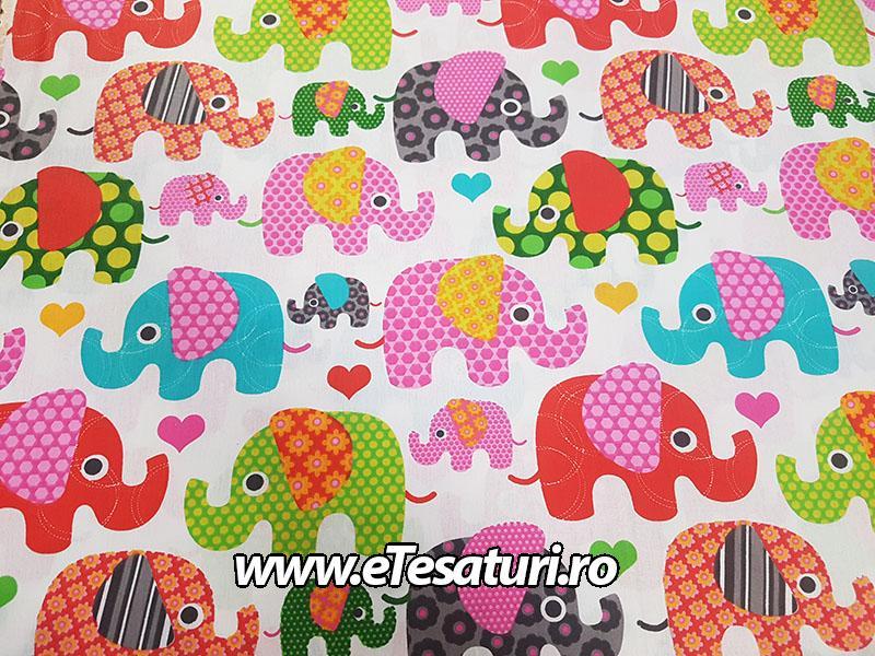 chiffon satinat Elefanti 02