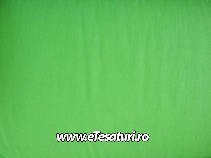 chiffon satinat verde
