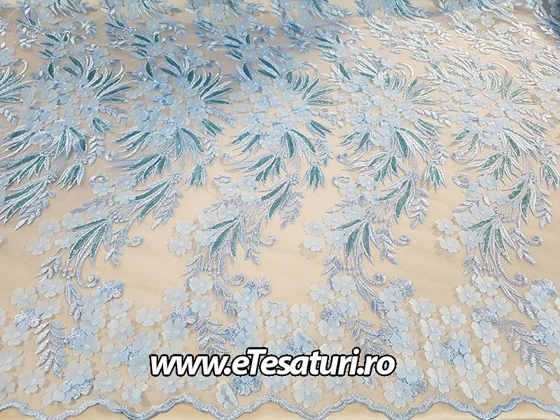 dantela Flora bleu