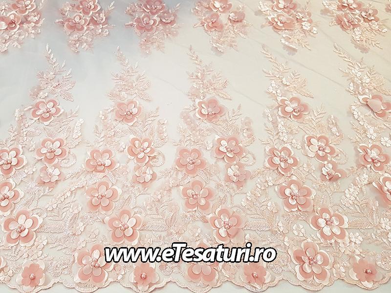 dantela 3D roz prafuit 02