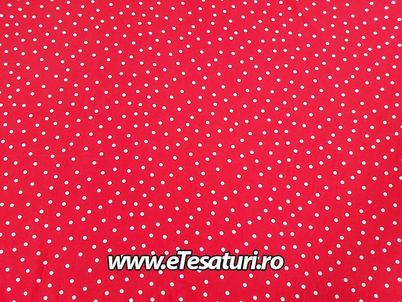 piersica rosie cu buline