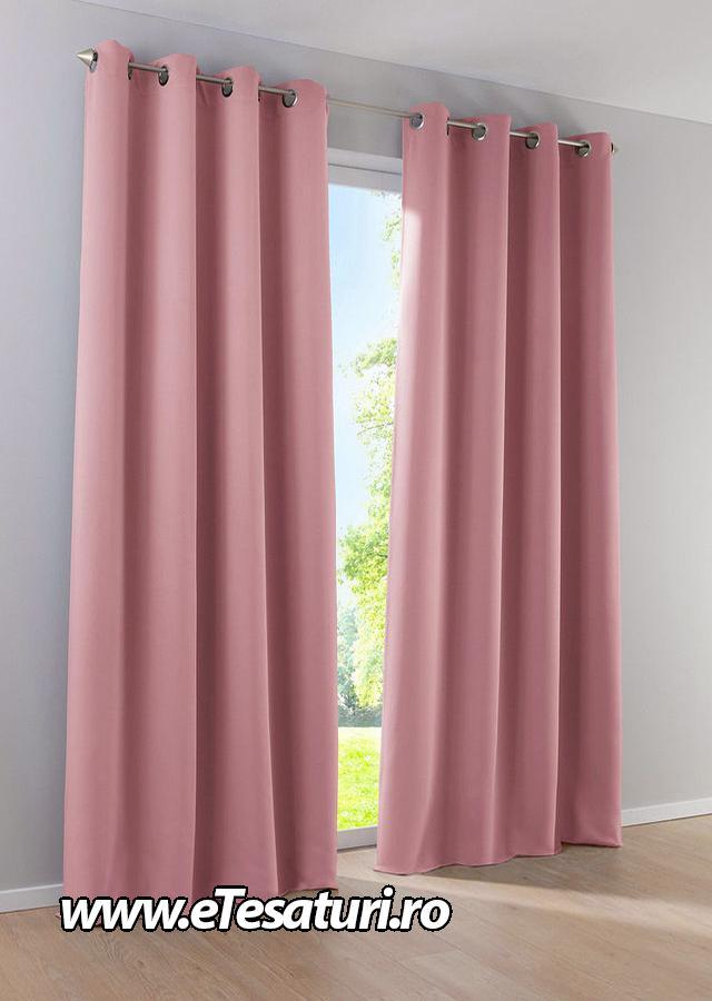 Draperie Catifea roz pudra