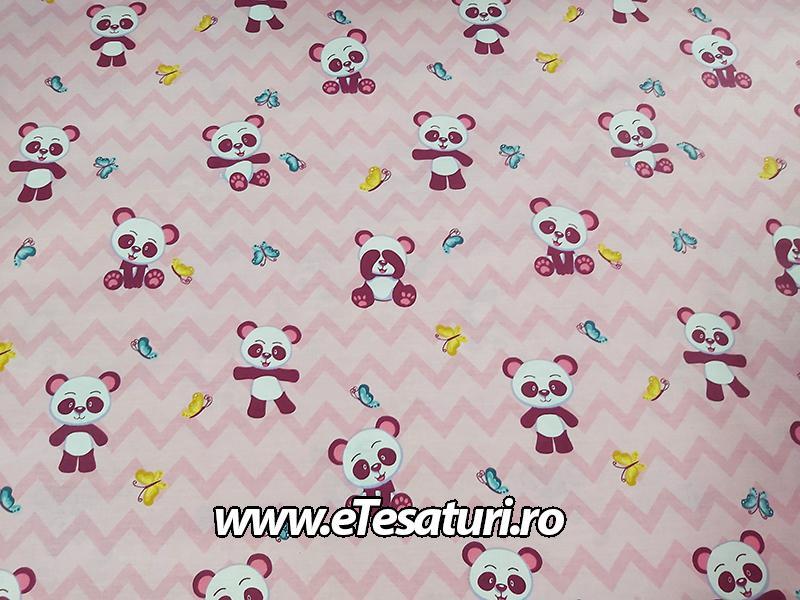 chiffon satinat Panda 02