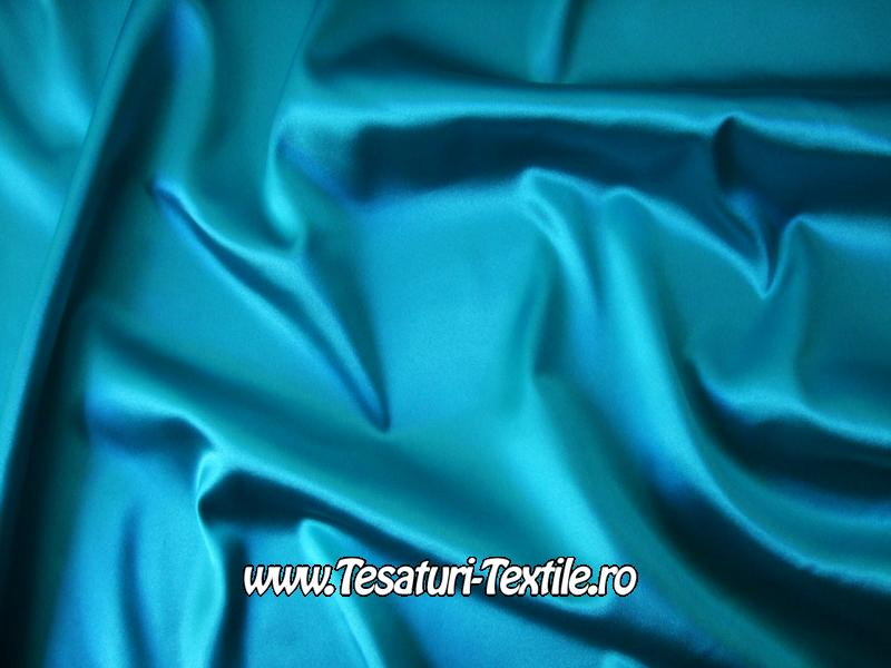 saten elastic turcoaz