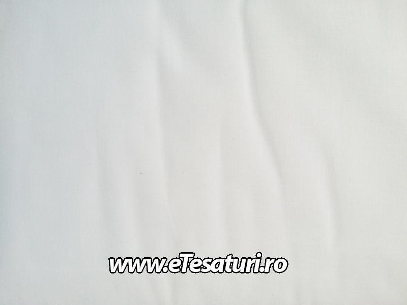 chiffon satinat alb