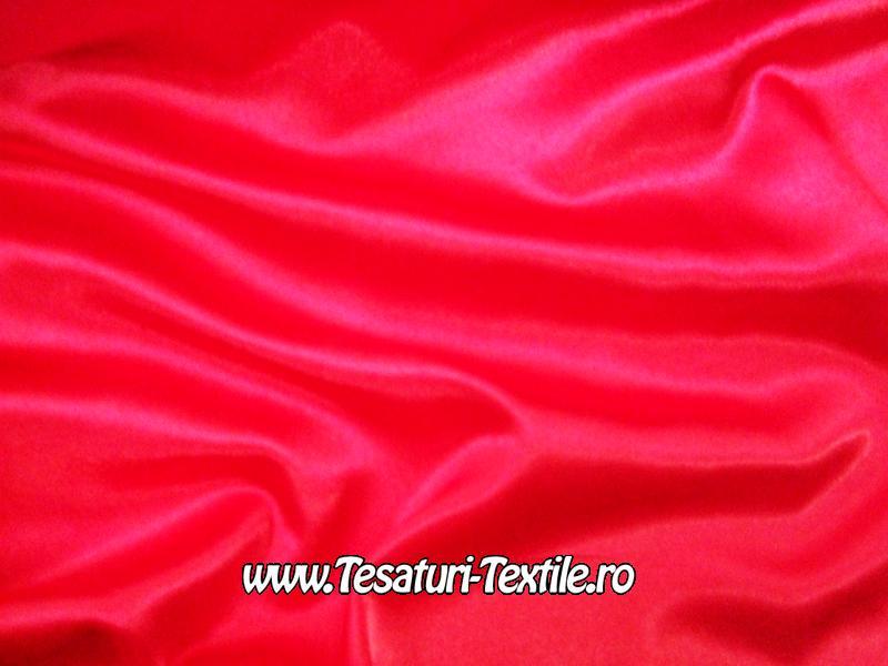 saten elastic rosu