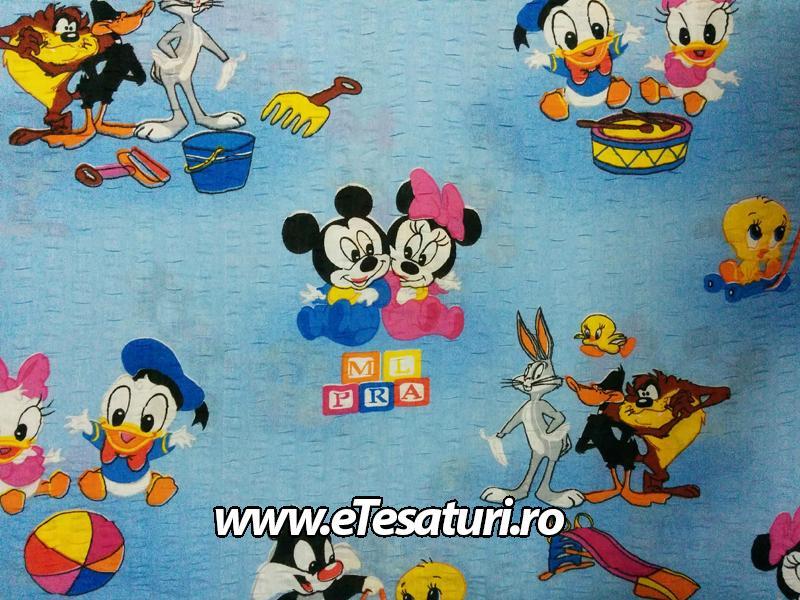 bumbac creponat Mickey