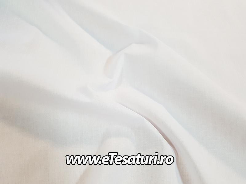 poplin alb